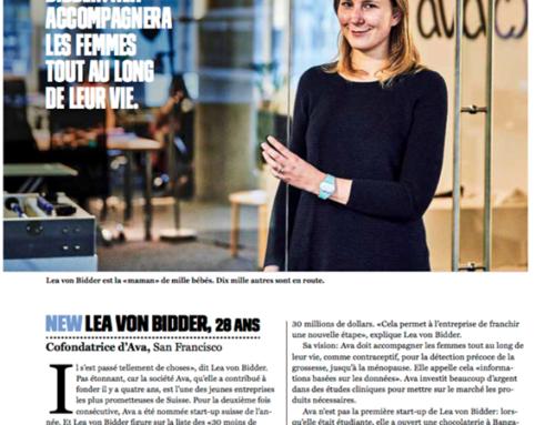 Notre cliente, Lea Von Bidder, CEO de la startup …