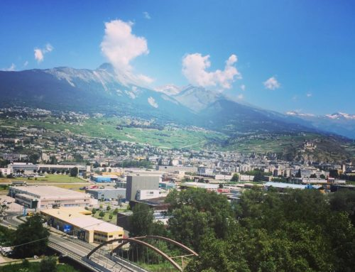 Beautiful day from our Sion office ☀️濾
